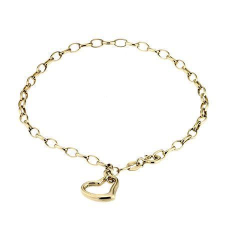 9ct gold charm bracelet h samuel