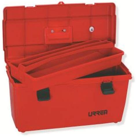 urrea 23 in plastic tool box with metal clasps 9902