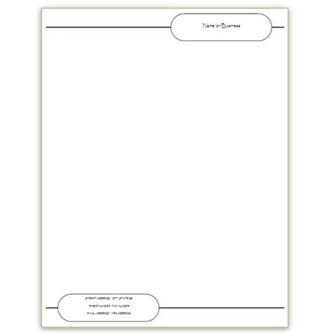 Blank Shmank Microsoft Word Letterhead Templates Free Download Microsoft Office Stationery Templates