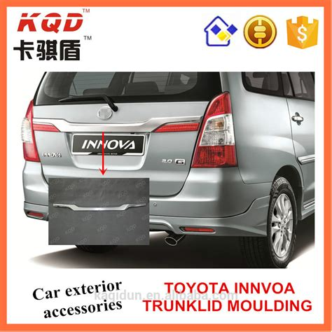 Toyota Car Accessories Toyota Accessories Abs Chrome Trunklid Moulding For Toyota