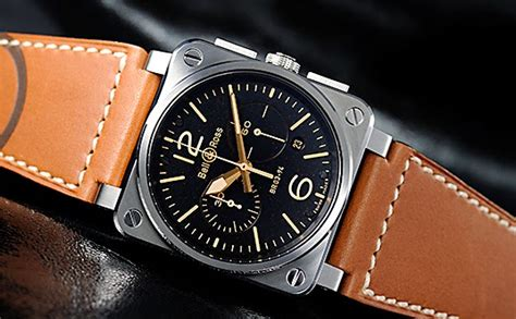 sold bell ross br03 94 chronograph golden heritage jual beli jam tangan mewah second
