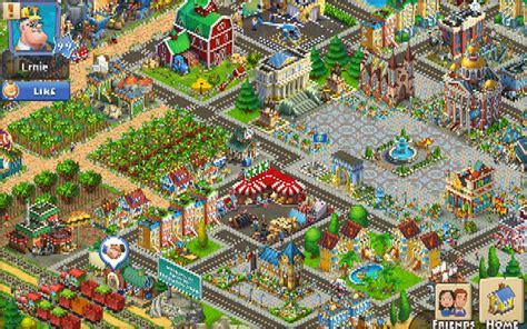 Mesin Hayday township menanam kebun beternak dan membangun kota di android