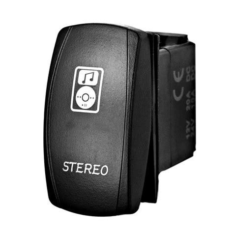 stereo laser rocker switch stv motorsports