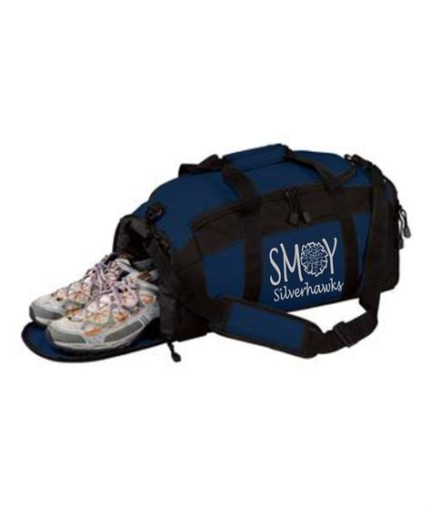 cheer shoes sports authority duffle with waterproof shoe pocket smoy cheer silver