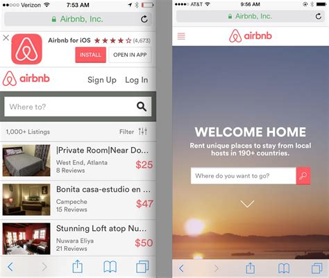 design application search gigaom here s the strategy behind airbnb s mobile web