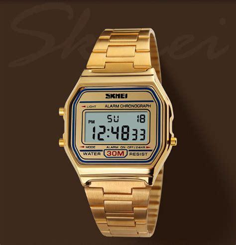 Jam Tangan Unisex Retro Vintage Style Cowboy Watches Clock Leather skmei retro style lcd digital unisex featured ledwatchstop