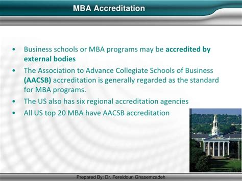 Regionally Accredited Mba by Mba Best Practices