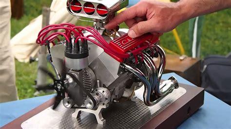 working mini v8 engine kit mini cnc 4 axis and miniature chevrolet v8 super sound