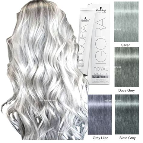 igoira hair color how to mix colors schwarzkopf igora royal grey lilac dove grey silver