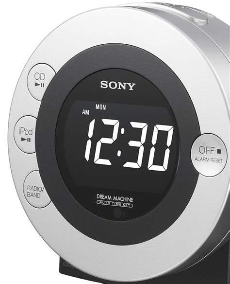 sony machine icf cd3ip cd clock radio dual alarm ipod phone dock ebay