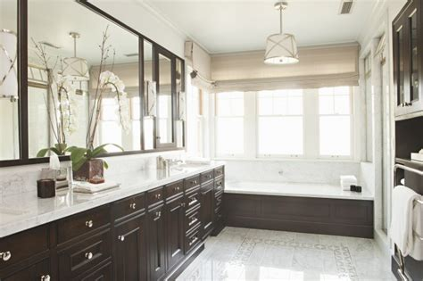 dark cabinets in bathroom bathroom with espresso cabinets transitional bathroom