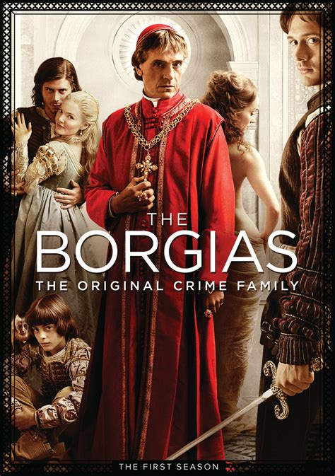 The Borgias Season 1 3 Lengkap The Borgias Dvd Release Date