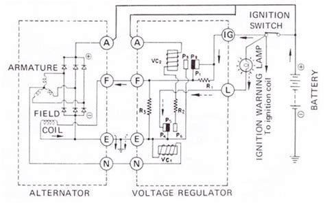tech wiki voltage regulator datsun 1200 club