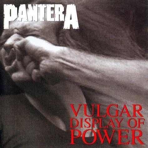 Cd The Panturas pantera vulgar display of power nuclear blast
