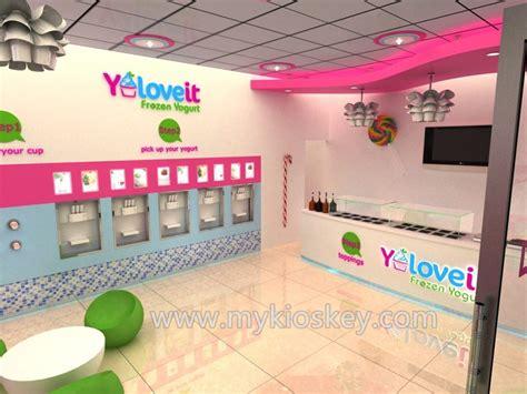 lasted  frozen yogurt shop furniture design  ce