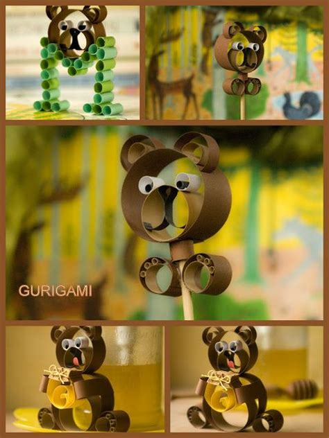 quilling maci tutorial 99 best images about thema beren kleuters bears theme