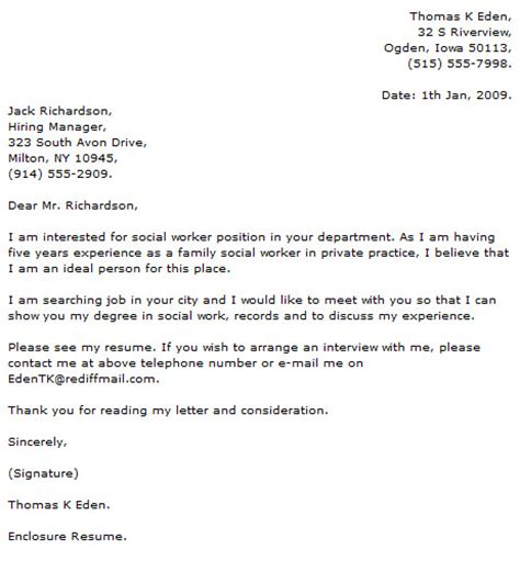 social work sle cover letter show exles of cover letters 28 images social work