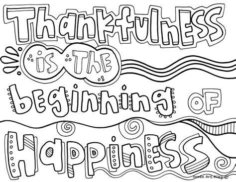 coloring pages quotes coloring thankful quotes doodle alley