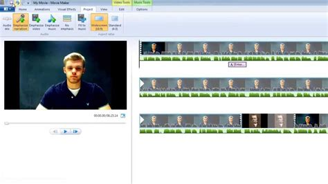 windows movie maker windows vista tutorial windows movie maker tutorial youtube