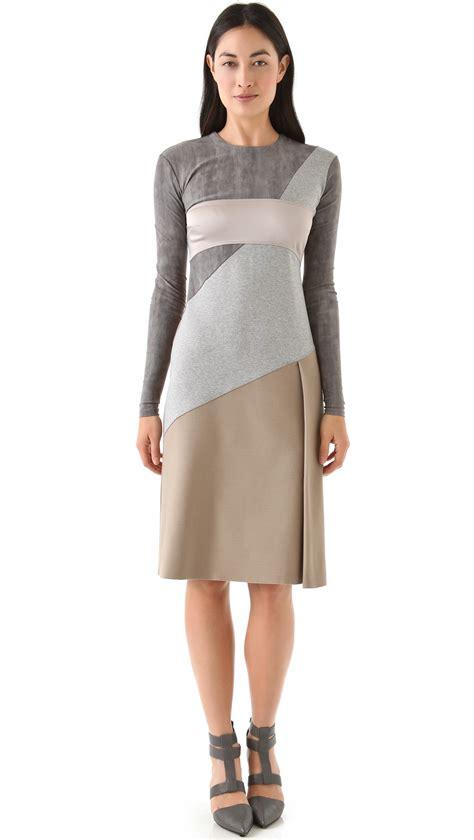 Gray Back Dress U221 vpl dislocation dress in gray lyst