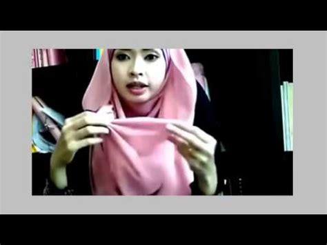 tutorial hijab pesta bahasa jawa tutorial hijab modern bahasa melayu youtube