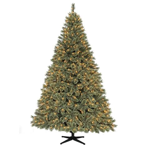 sierra nevada tree artificial donner and blitzen 7 5 600 clear light pre lit tree shop your way