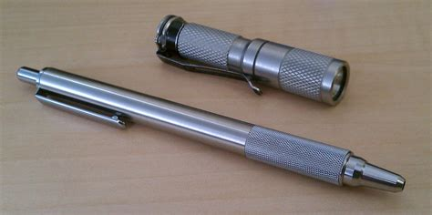 homemade tactical zebra f 701 tactical pen still mostly plastic 1 with a
