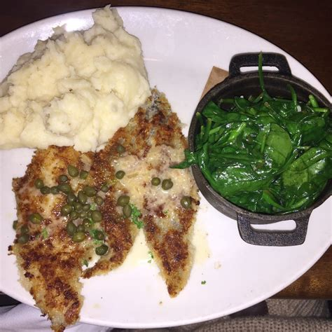 king s fish house long beach ca parmesan crusted wild alaskan sand dabs w lemon butter and capers garlic mashed