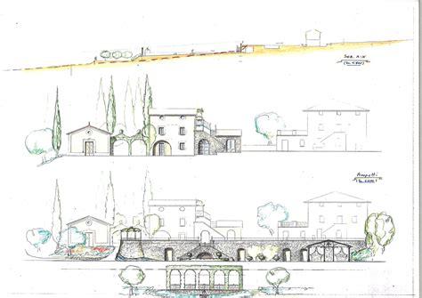 disegni di giardini stunning prospetti di studio per e liamento con