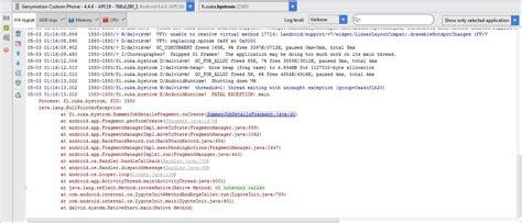 layoutinflater crashing android edittext inside fragment crashes app crash