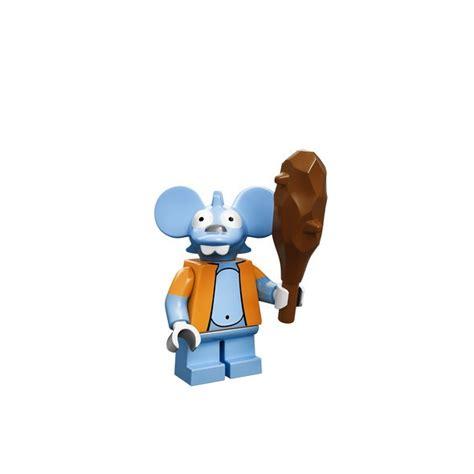New Itchy Lego Minifigures The Simpsons No 13 Sse050 novos personagens do conjunto lego simpsons v 227 o fazer voc 234 querer ter todos rock n tech