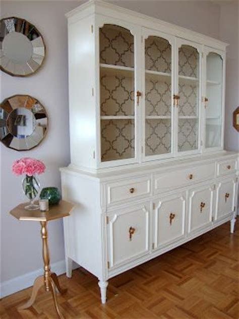17 Best ideas about China Cabinet Painted on Pinterest   China hutch decor, Dining room hutch