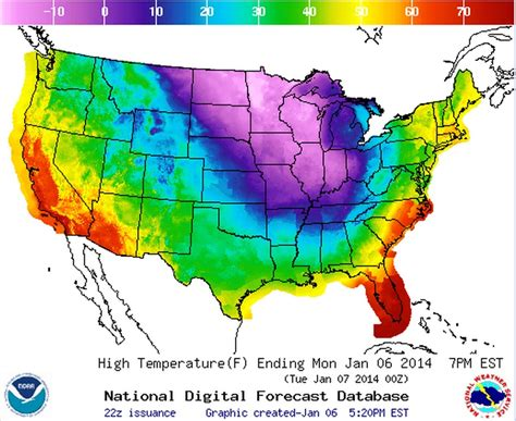 national temperature map noaa temperature map of us realneo for all