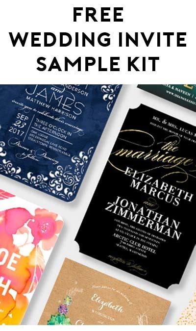 Wedding Invite Kits Paper by Free Wedding Invitation Sle Kit From Wedding Paper