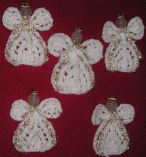 pattern for knitted christmas angel knitting galore angel tree ornament