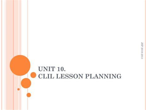 design a logo ppt lesson ppt unit 10 clil lesson planning powerpoint
