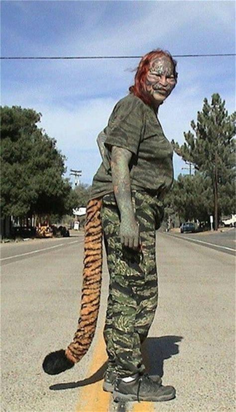 cat man tattoo died 8 personnes qui ont chang 233 de corps pour devenir un animal