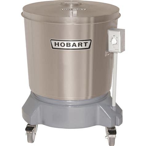 hobart sdps   gallon stainless steel salad dryer salad spinners dryers bakedecocom