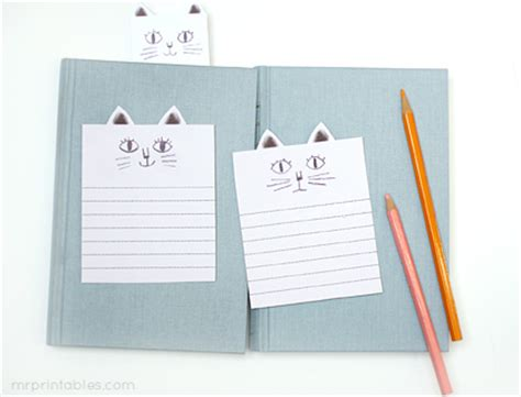 printable note cards with lines 猫のかわいいメモ用紙 無料ダウンロード cat lined note cards 無料ダウンロード 可愛い印刷