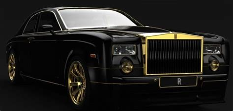 2011 Rolls Royce Phantom Tb Gold Edition Design Study