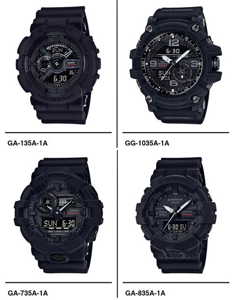 G Shock Ga1000 Casio Black Hitam Tahan Ciprat Air Waterresist lima casio g shock baru dilancarkan sempena ulang tahun ke