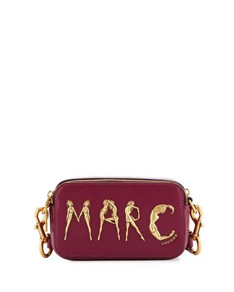 Marc Snapshot Flashed Bag 1818 marc snapshot flashed leather bag