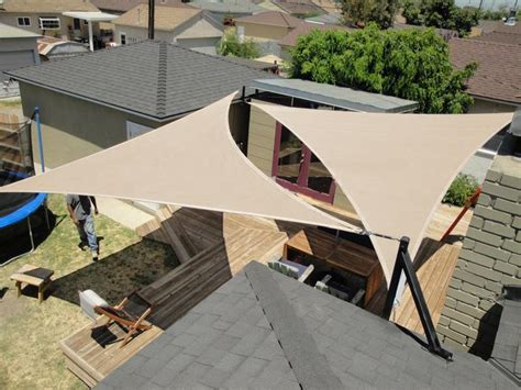 canapé pour terrasse quictent triangle square rectangle sun shade sail 14 size