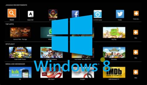 windows 8 1 for android c 243 mo ejecutar apps android en windows 8 con bluestacks
