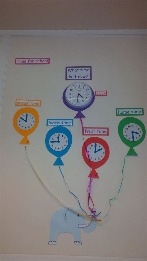 classroom layout ks2 telling the time display pinteres