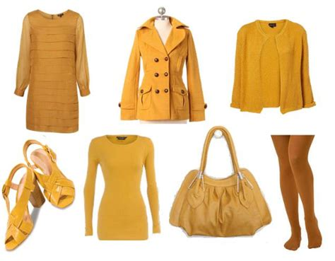 short presents food fashion fun fall in love with mustard coloured clothing