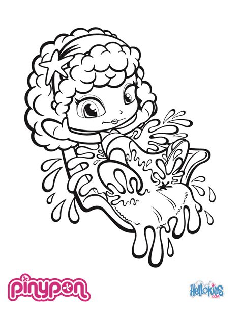 coloring book images pinypon coloring pages hellokids