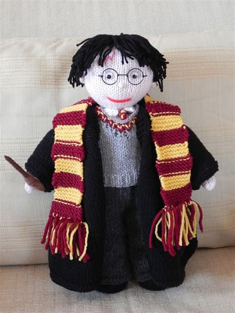 harry potter knitting knit harry potter doll when i get around tuit