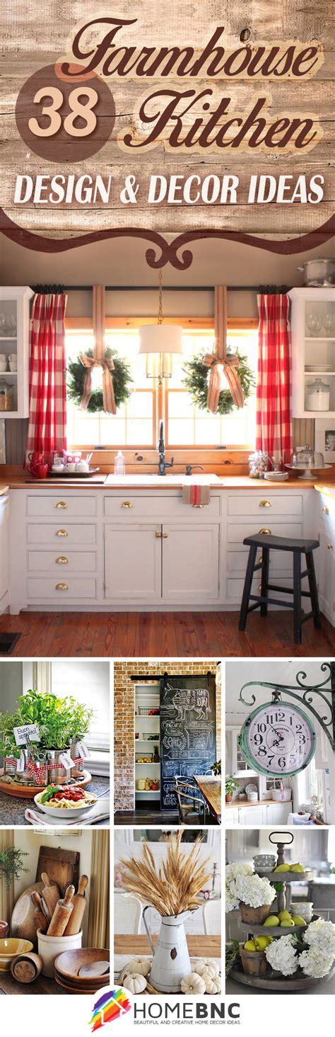 ideas for kitchen decor 38 best farmhouse kitchen decor and design ideas for 2017