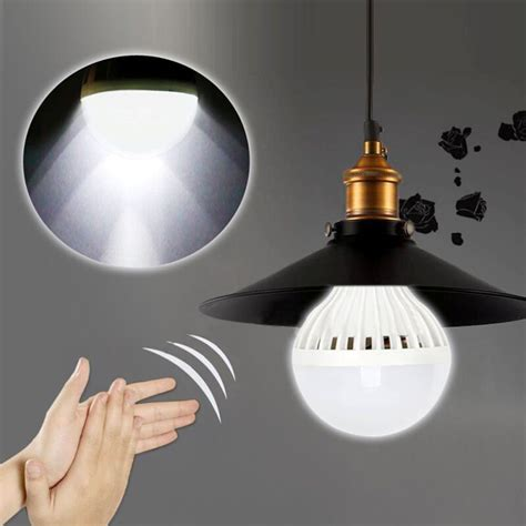 Led Automatic Voice Activated Sensor Light Yh229 e27 auto sound sensor led globe bulb light l voice activated sensor light automatic lights 3
